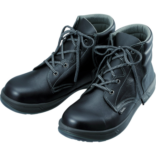 【SS2227.5】シモン 安全靴 編上靴 SS22黒 27.5cm(1足)