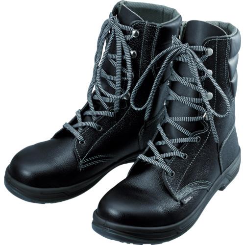 【SS3325.0】シモン 安全靴 長編上靴 SS33黒 25.0cm(1足)