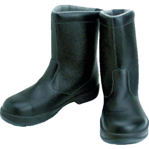 【SS4425.5】シモン 安全靴 半長靴 SS44黒 25.5cm(1足)