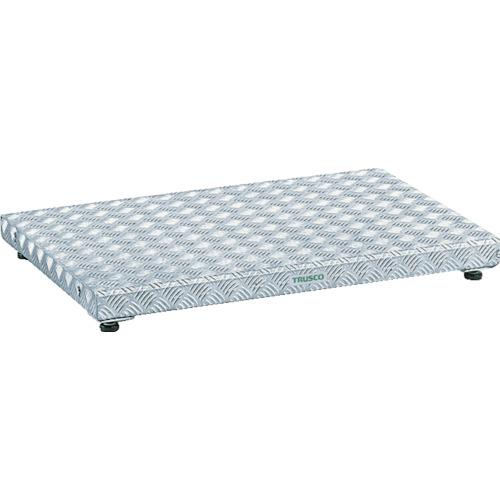 【TFS0960AL】TRUSCO 低床式アルミ製ステップ 900X600XH90~120(1台)