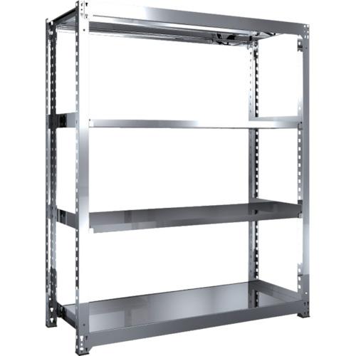 品多く 【SM36564】TRUSCO SM3型SUS棚 1500X571XH1800 4段 単体(1台):機械工具と部品の店 ルートワン-DIY・工具