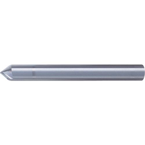【SV2030】ユニオンツール 超硬エンドミル テーパ φ0.8×刃長1.1X片角45°(1本)