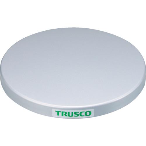 【TC6010F】TRUSCO 回転台 100Kg型 Φ600 スチール天板(1台)