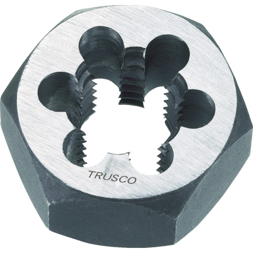 【TD61PT11】TRUSCO PT1-11(1個) 六角サラエナットダイス