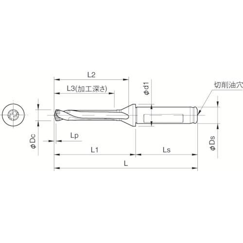 【SF25DRC180M5】京セラ ドリル用ホルダ(1本)