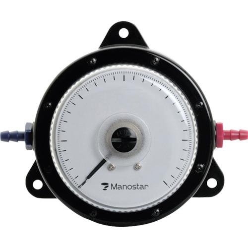【WO81FN10E】マノスター 微差圧計 マノスターゲージ <表面形・置針なし>(1台)