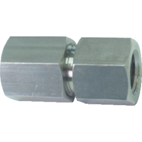 【TS165】ヤマト 高圧継手(メス×メス 袋ナットタイプ) TS165(1個)