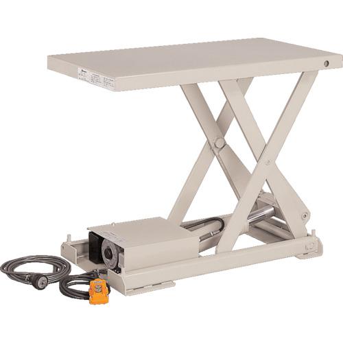 【X050406BB】ビシャモン テーブルリフト ちびちゃんシリーズ 均等荷重500kg ストローク390mm(1台)
