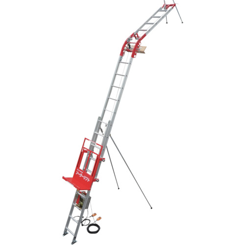 【UP100SBS2F】アルインコ 荷揚げ機ソーラーリフトBセット(1S)