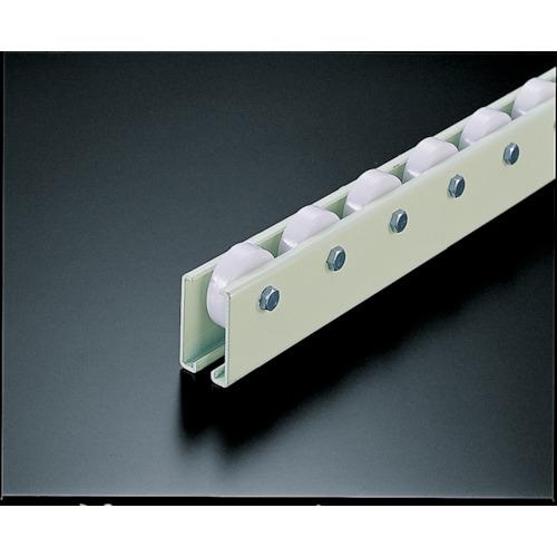 【V38N753000】TRUSCO ホイールコンベヤ 樹脂製Φ38X12 P75XL3000(1台)