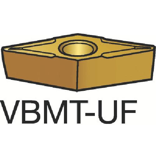 【VBMT110208UF:235】サンドビック コロターン107 旋削用ポジ・チップ 235(10個)