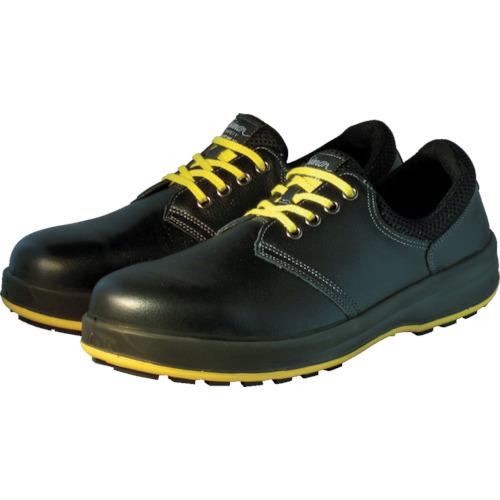 【WS11BKS25.5】シモン 安全靴 短靴 WS11黒静電靴 25.5cm(1足)