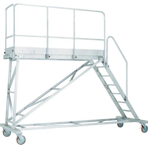 【TRST15A】アルインコ 大型作業台 本体用フル手すりセット(天板高さ1500mm用)(1S)