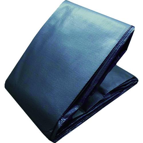 【TWP7000MS1010】TRUSCO 耐水UVシート#7000 幅10.0mX長さ10.0m メタリックシルバー色(1枚)