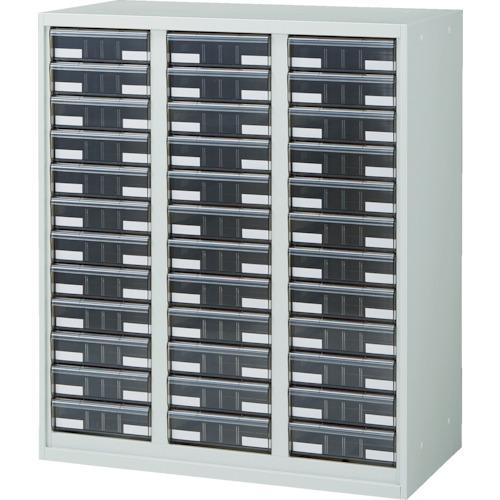 【URW1132A】TRUSCO U型壁面書庫 カタログケース 引出A4 深X36 W色(1台)