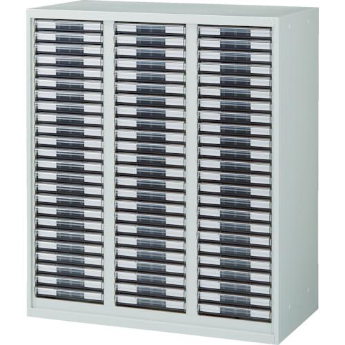 【URW1134A】TRUSCO U型壁面書庫 カタログケース 引出A4 浅X72 W色(1台)