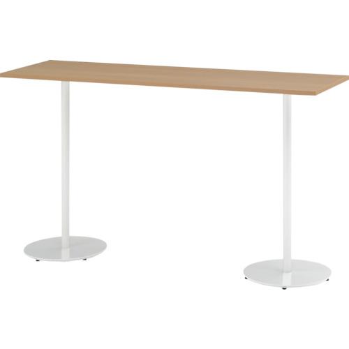 【TRA185HHW998】イトーキ ハイテーブル(角型)1800X500X1000(1台)