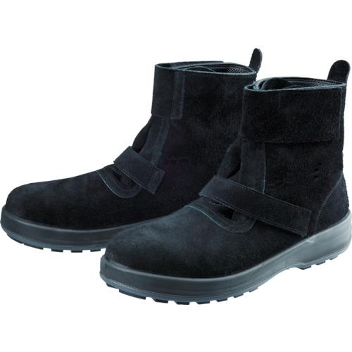 25.0cm(1足) 【WS28BKT25.0】シモン WS28黒床 安全靴