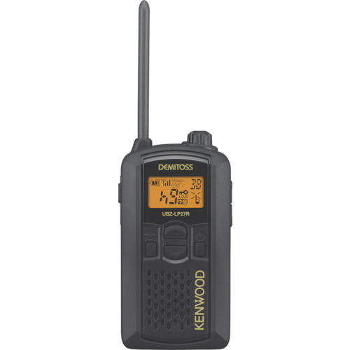 【UBZLP27RB】ケンウッド 特定小電力トランシーバー(交互通話)(1台)