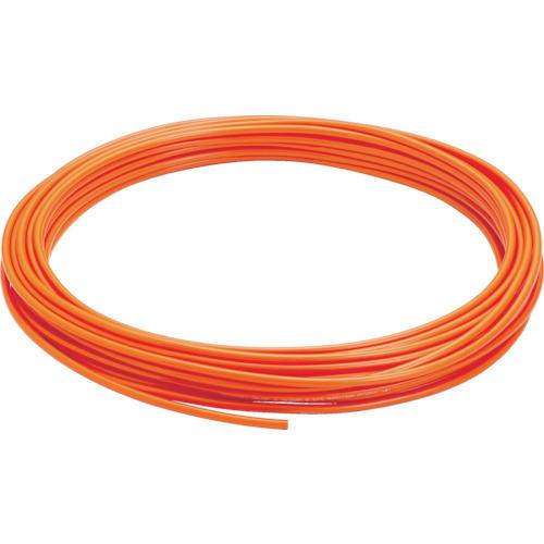UB0425100O 価格 交渉 送料無料 ピスコ ポリウレタンチューブ オレンジ 買物 4×2.5 1巻 100M