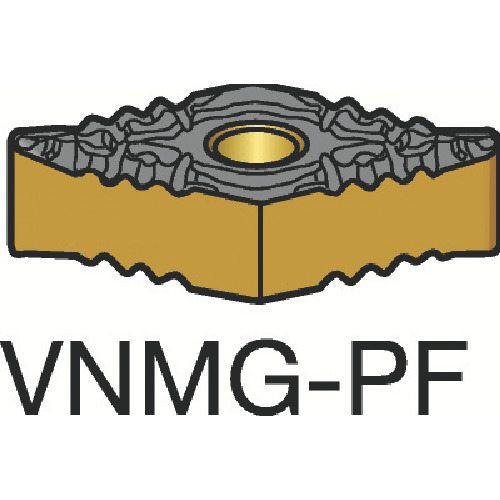 【VNMG160404PF:5015】サンドビック T-Max P 旋削用ネガ・チップ 5015(10個)