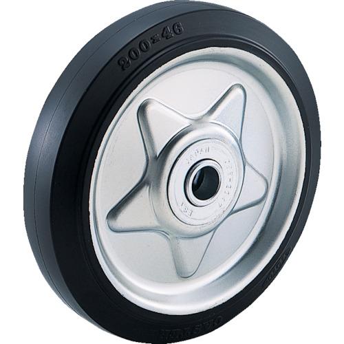 限定モデル TW200 4年保証 TRUSCO ゴム車輪 1個 Φ200