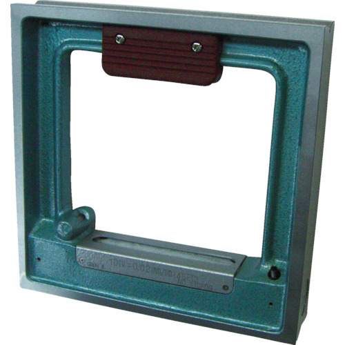 【TSLA2002】TRUSCO 角型精密水準器 A級 寸法200X200 感度0.02(1個)