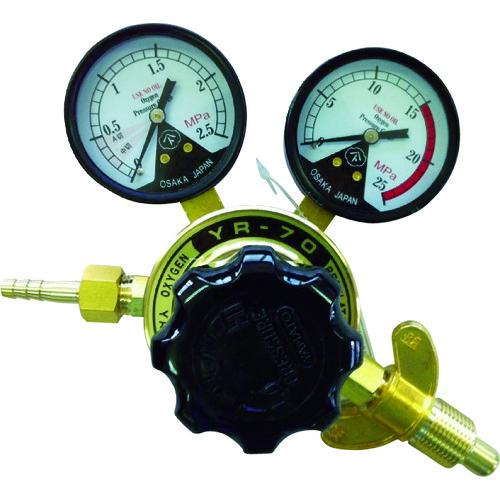【YR70OXW】ヤマト 全真鍮製酸素調整器 YR-70(関西式)(1個)