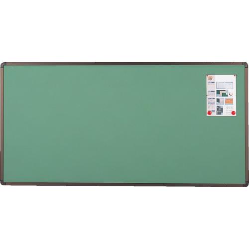 【YBE36SGM】TRUSCO ブロンズ掲示板 900X1800 グリーン(1枚)