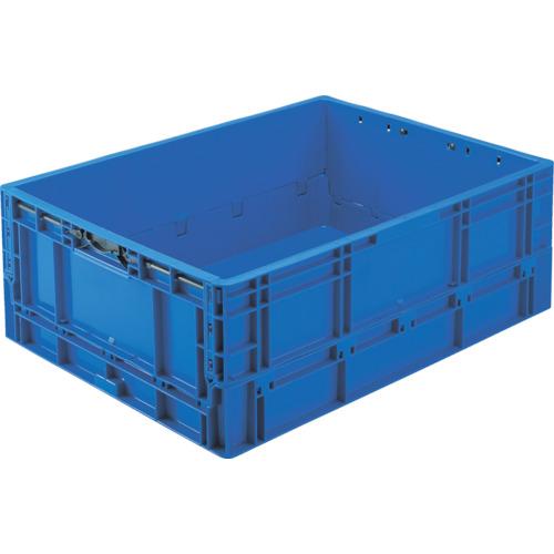 TPO462.5:DB TRUSCO TPO型 折りたたみコンテナ ダークブルー 10%OFF 63L 25%OFF 1個 TP規格