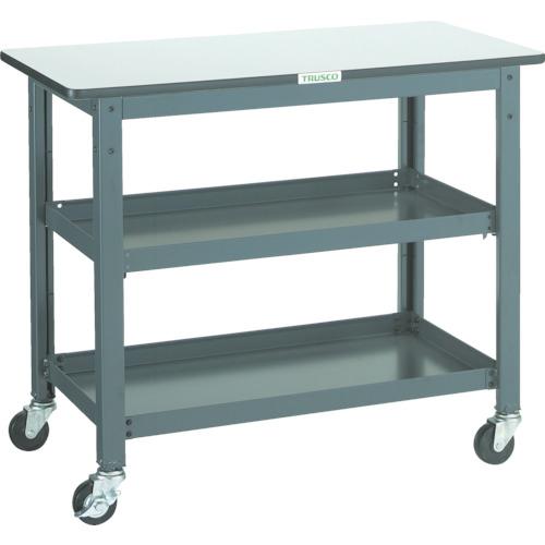 専門店では 【WHT4590】TRUSCO WHT型作業台補助テーブルワゴン 900X450XH740(1台):機械工具と部品の店 ルートワン, アラカワマチ:817292cc --- fricanospizzaalpine.com