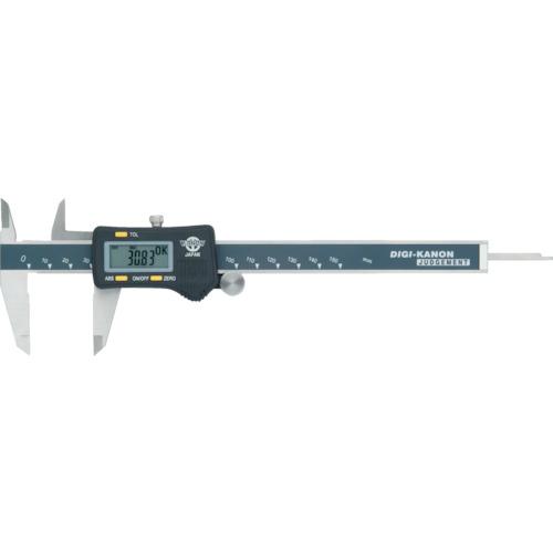 【ULJ15】カノン 上下限設定デジタルノギス150mm(1本)