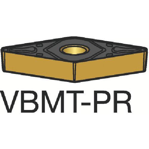 【VBMT160408PR:4235】サンドビック コロターン107 旋削用ポジ・チップ 4235(10個)