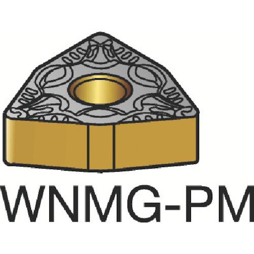 【WNMG060408PM:4235】サンドビック T-Max P 旋削用ネガ・チップ 4235(10個)