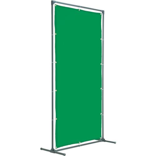 TRUSCO 溶接遮光フェンス 2020型単体固定足 深緑【YFAKDG】【トラスコ中山(株)】