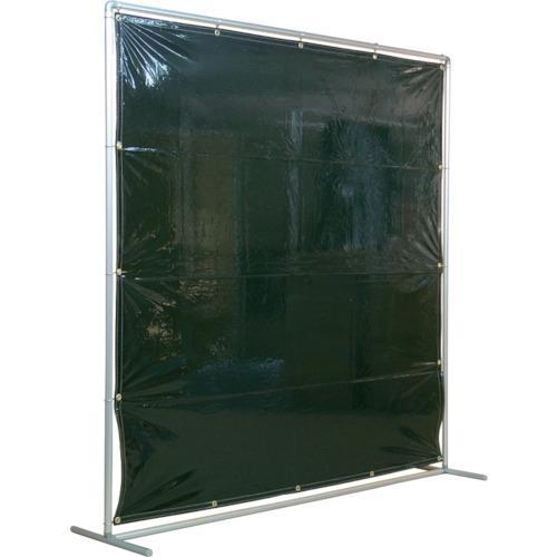 吉野 遮光フェンスアルミパイプ 2×2 単体固定 ダークグリーン【YS22SFDG】【吉野(株)】