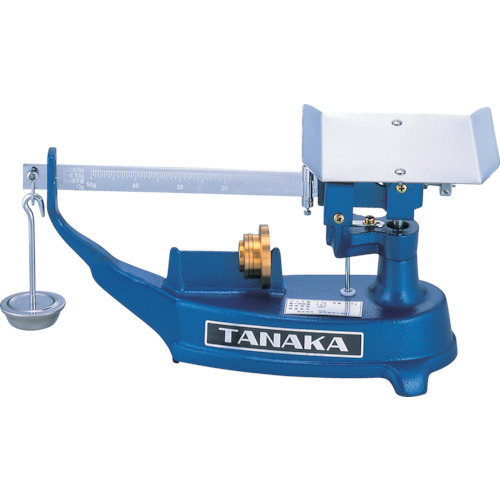TANAKA 上皿桿秤 並皿 2kg【TPB2】(1台)【(株)田中衡機工業所】