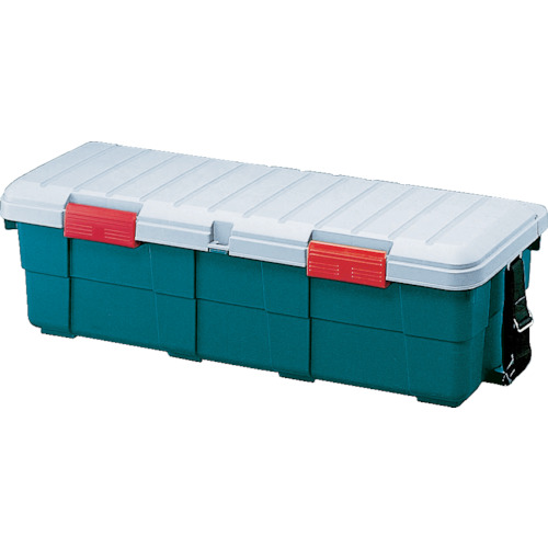 【CK130】IRIS 231744 カー収納 カートランク 1300×450×390 ダークグリーン(1台)※直送品の為代引き不可※車上渡し