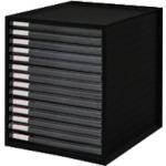 【LCE14SBK】IRIS 245966レターケース LCE-14S ブラック(4個)