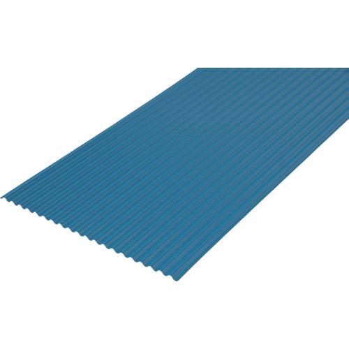 【NIPC607BL】[法人様限定][10枚組]IRIS 573236 トタン風ポリカ波板 6尺
