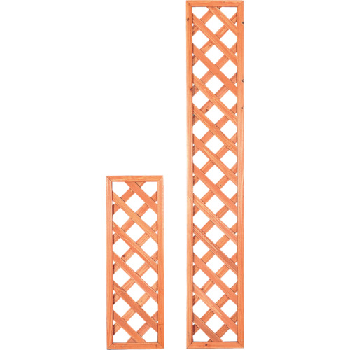 【W318】IRIS 544521 ラティス ブラウン(4個)