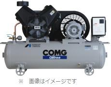 [ TFP55BB-10]オイルフリーレシプロコンプレッサタンクマウントタイプ200V【アネスト岩田】