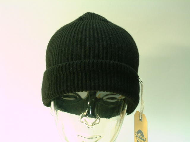"""Buzz Rickson's(バズリクソンズ)BLACK A-4 WATCH CAP""""WILLIAM GIBSON COLLEC"""