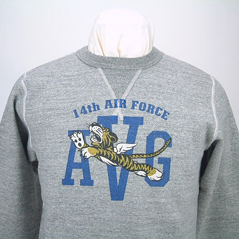 Buzz Rickson's バズリクソンズ  SET IN CREW SWEAT SHIRTS14th AIR FORCE