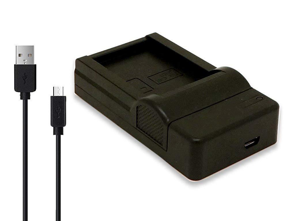 メール便送料無料 ロワジャパン 純正 互換バッテリー共に対応可能 超軽量 OLYMPUS BCH-1 オリンパス PS-BCH1 NEW USB充電器 互換 百貨店 BCH1
