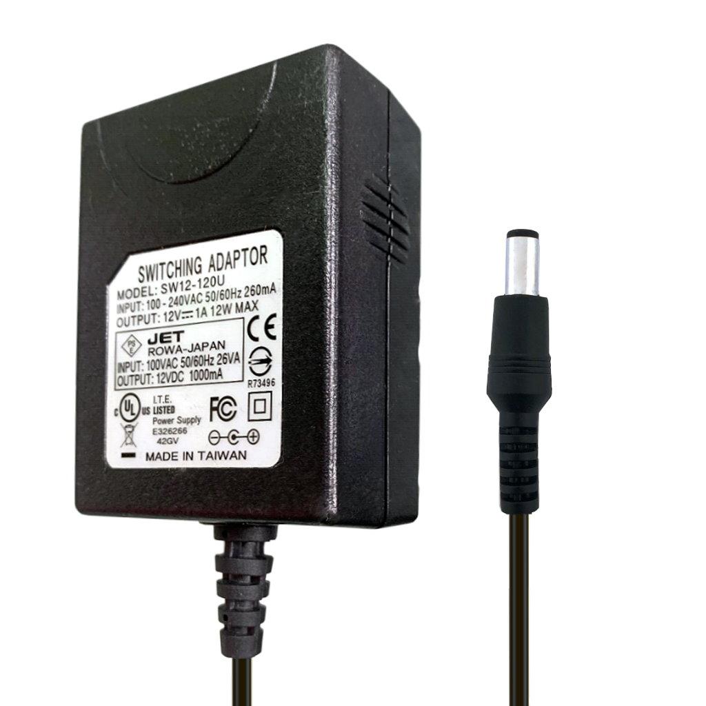 100個セット ACアダプター DC12V 1A 外径5.5mm 内径2.1mm 充電器 AC100V-240Vに対応 PSE認証済 ロワジャパン