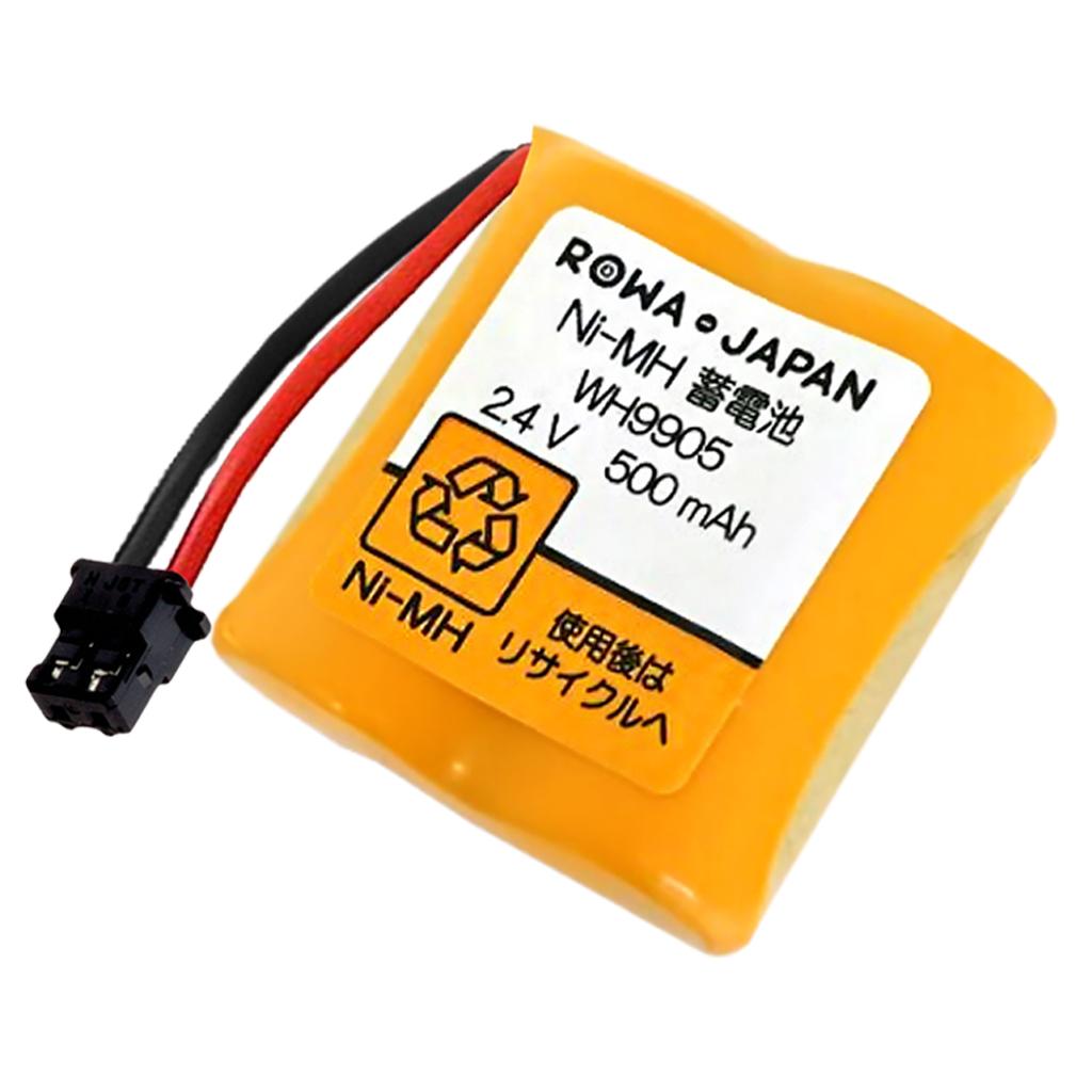 メール便送料無料 ロワジャパン PANASONIC ホーム保安灯 増量使用時間1.43倍 互換 WH9905P 人気 おすすめ パナソニック対応 WH9902P オンラインショップ バッテリー
