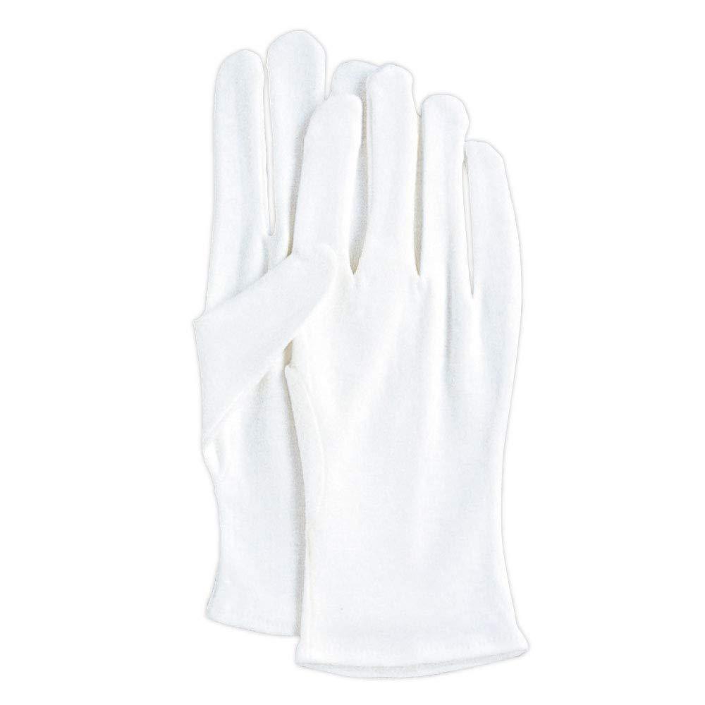 日本最大級の品揃え HANDS MADE白手 綿薄マチ無手袋 12双 送料無料 一部地域を除く 白手 Lサイズ L