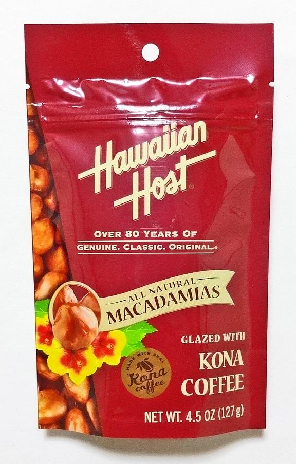 ハワイアンホースト・マカダミアナッツ/コナコーヒー4.5oz(127g)