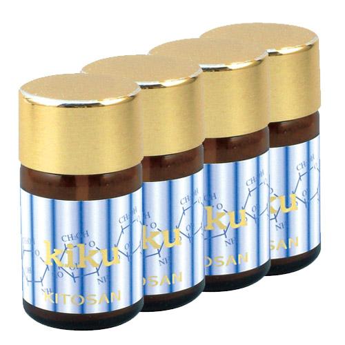 【送料無料】日本生物化学 水溶性キトサン菊<4本セット>【1本あたり7000円】